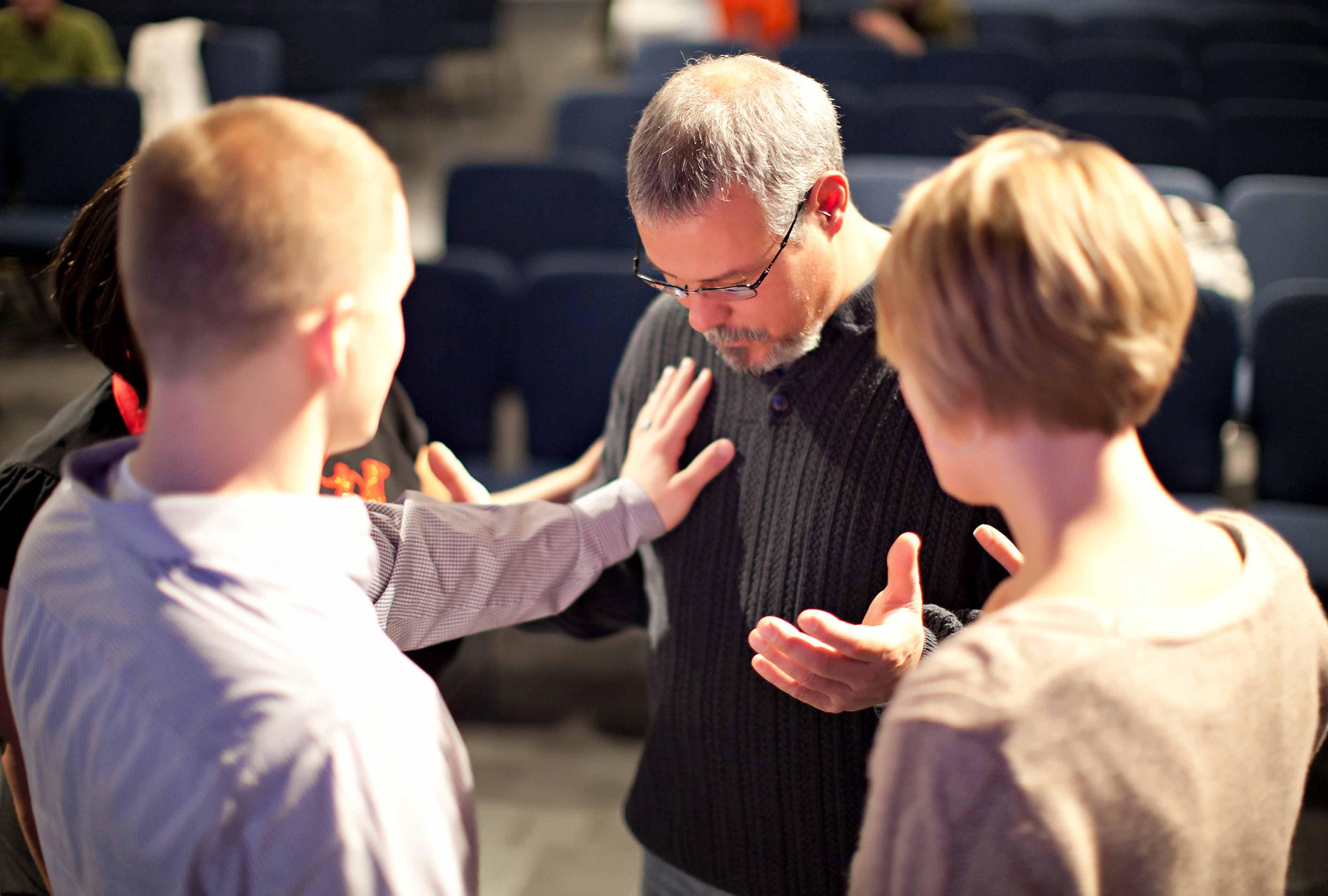 Prayer Ministry time