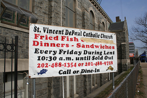 Vineyard church is lent really for me what if i don 39 t for Fish on fridays during lent