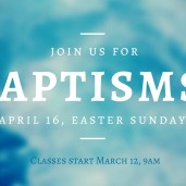 BAPTISMS (2)
